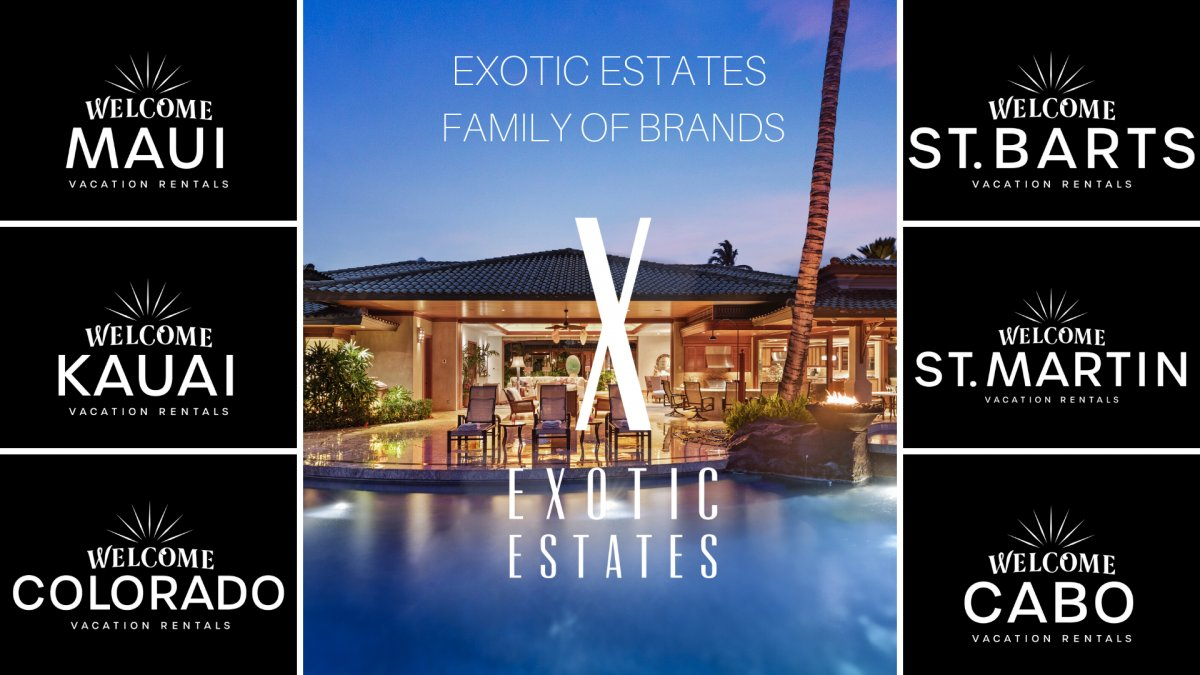 Exotic Estates Family of Brands - Welcome St. Barts