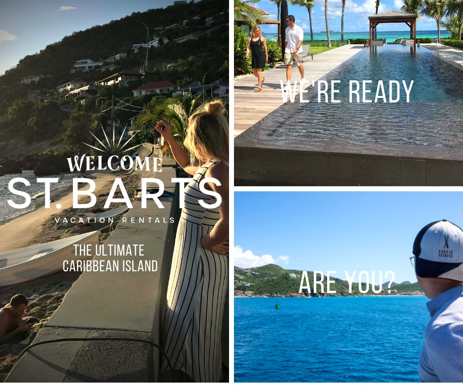 Welcome St. Barts Vacation Rentals